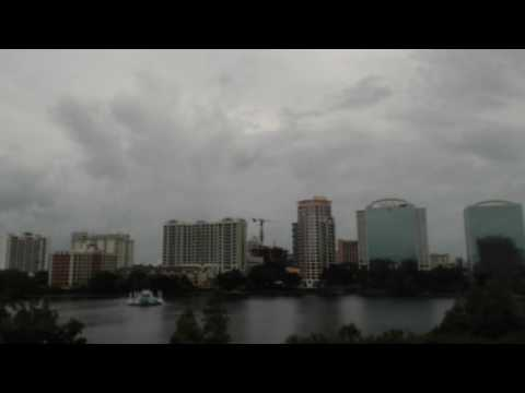 Hurricane Matthew - Downtown Orlando - Live Stream