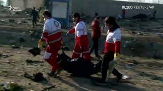 В Ірані впав український літак – відео з місця авіакатастрофи
