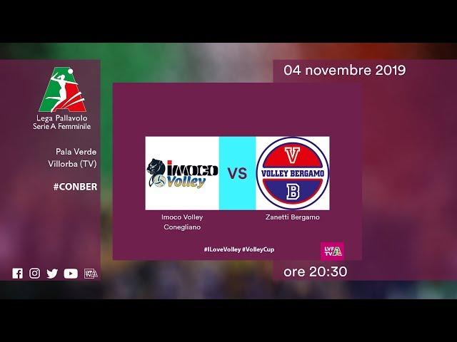 Conegliano - Bergamo | Speciale | 5^ Giornata | Lega Volley Femminile 2019/20