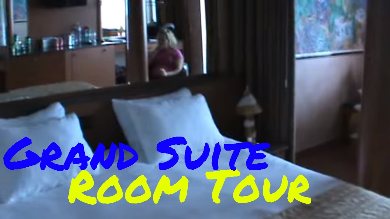 Grand Suite On Carnival Ecstasy Room U87 Youtube
