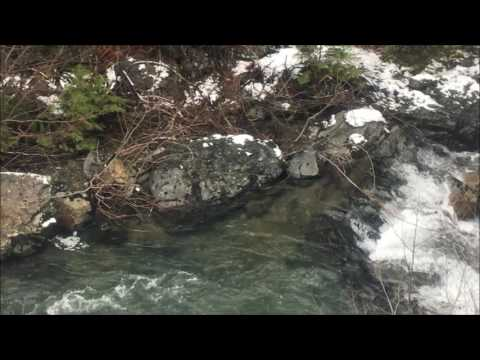 XC Ski Climb Of Deer Creek Rd.  1 22 2017
