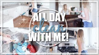 ALL DAY ULTIMATE CLEAN WITH ME 2019 / EXTREME CLEANING MOTIVATION / MESSY HOUSE TRANSFORMATION