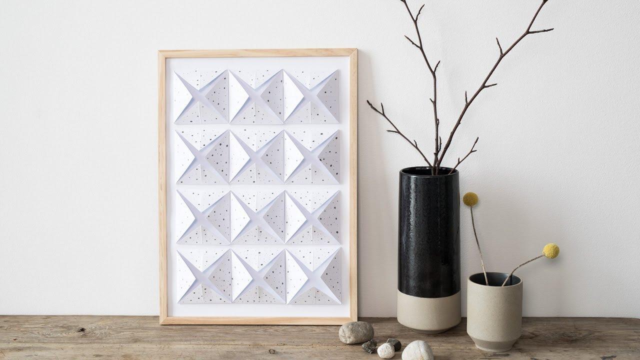 Diy Wall Decoration In A Black White Grey Design By Søstrene Grene