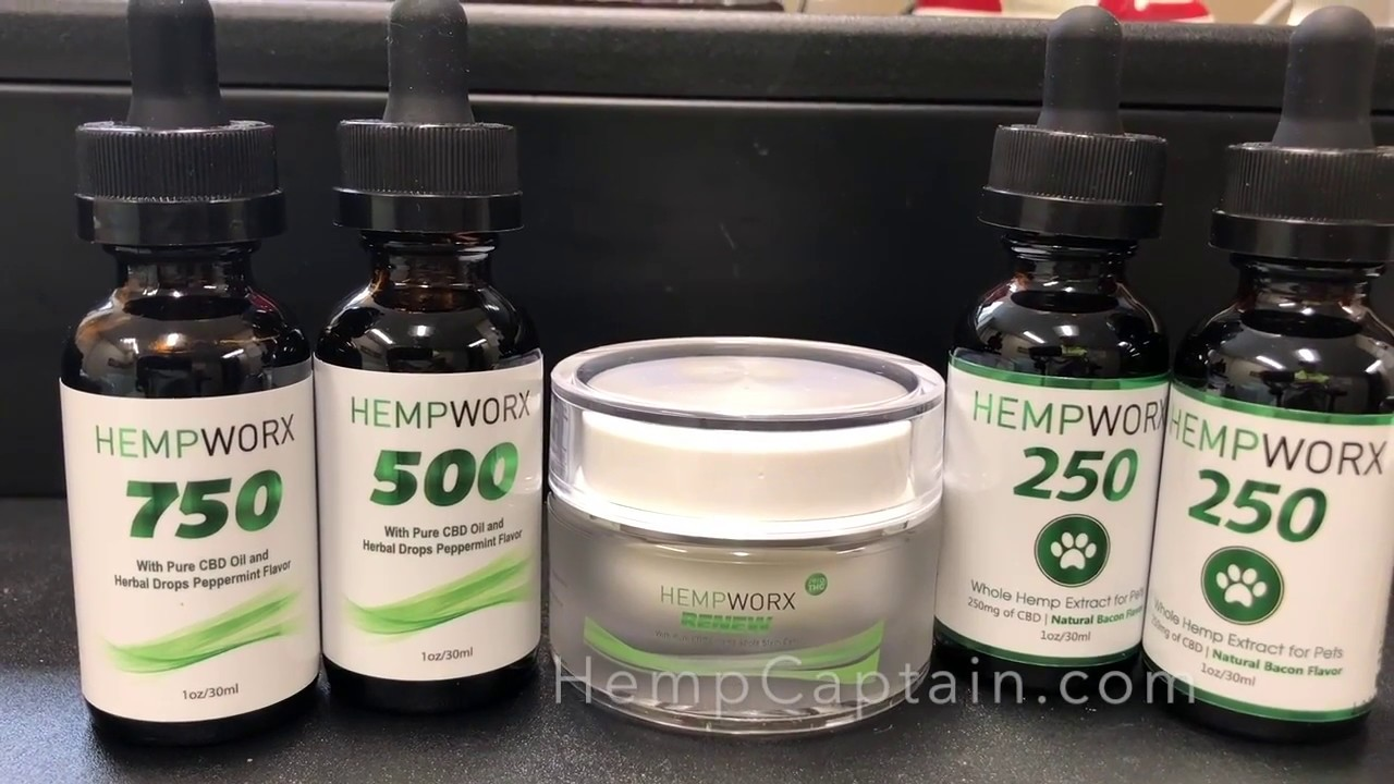 HempWorx Reviews, Cost, Coupons [NEW CBD Products for 2019?]