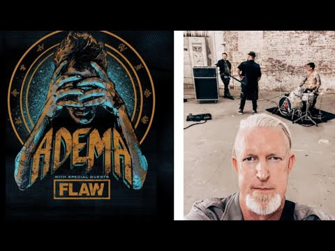 Adema and Flaw 2021 U.S. 'Ready To Die Tour' announced! - Adema work on ne music!