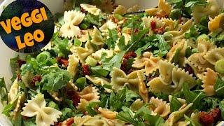 Mediterraner Nudelsalat | veganes Rezept