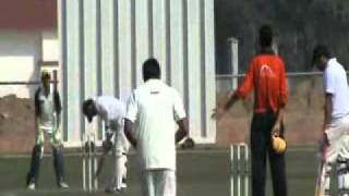 Cricket-New Holond India ltd Vs  Dinik Jagaran at Greater Noida stadium on 13th feb 11
