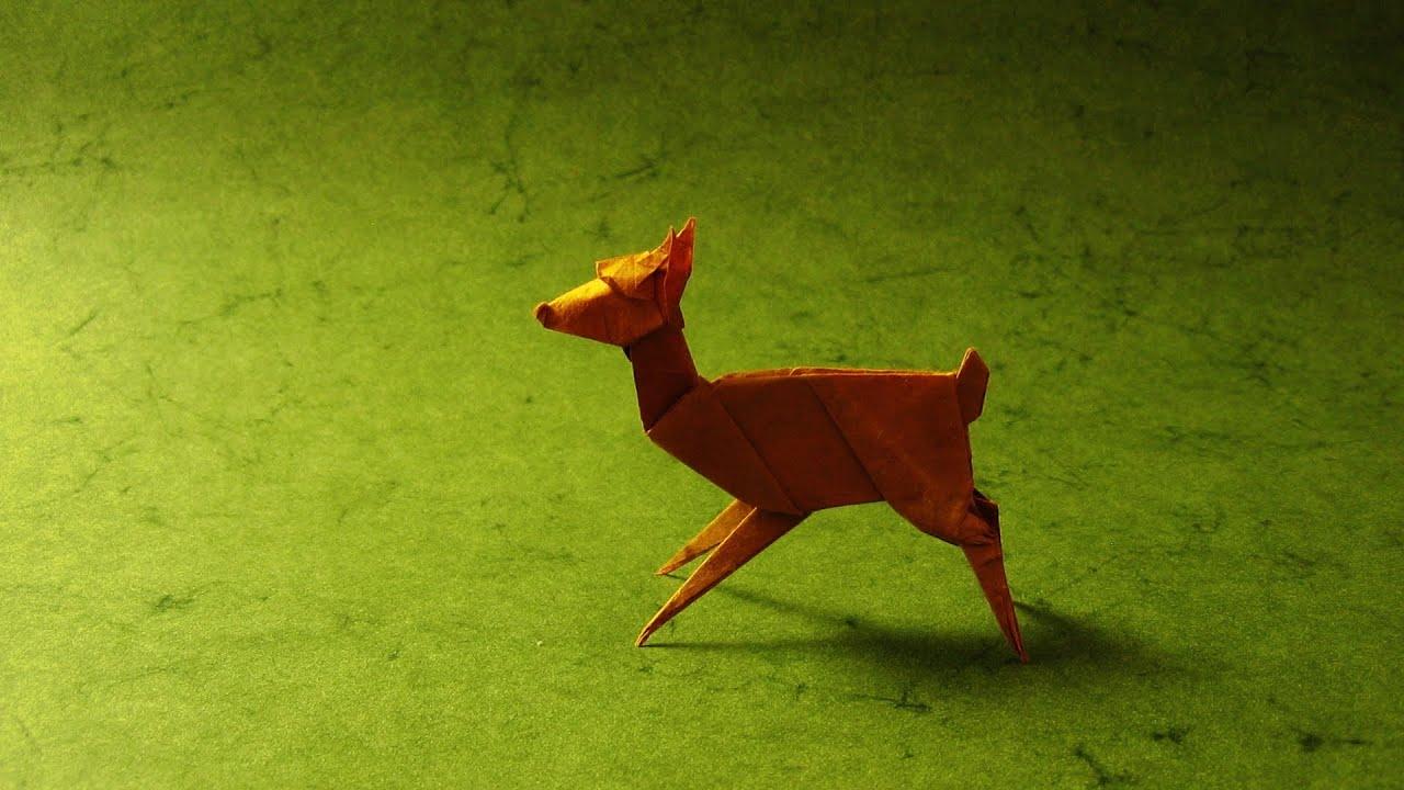 Origami Hard Animals Tutorial Handmade Livre Racer Muneji Instructions Fawn Stephen Weiss You