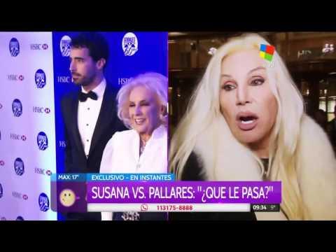 Susana Giménez: ¿Qué quéres? Si no nos defiende la policía...