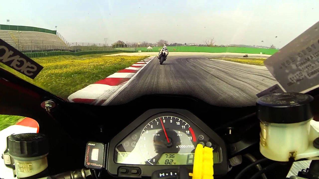 Misano circuit Rennstrecke 2014 with cbr 1000 rr sc57