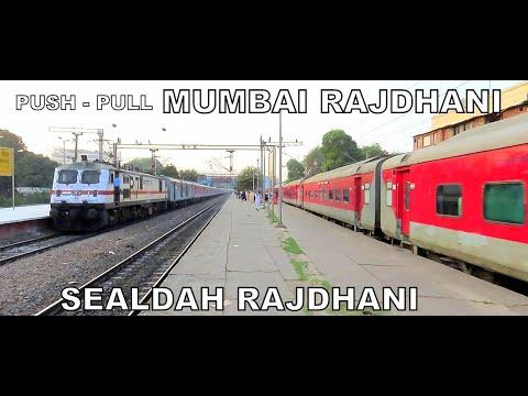 push-pull-mumbai-rajdhani-v-sealdah-rajdhani-parallel-run
