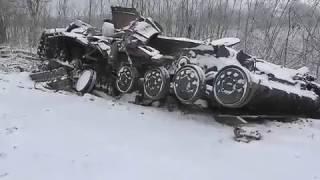 Дебальцево. Украина печальные кадры