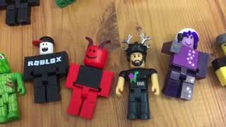 My Roblox toys collection and opening Blind boxes