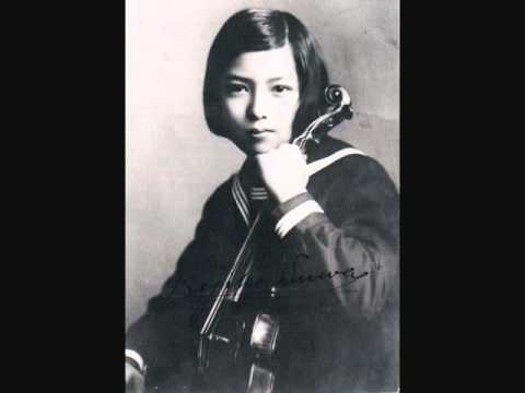 Dvorak Indelian Lament Nejiko Suwa,violin インディアン・ラメント 諏訪根自子