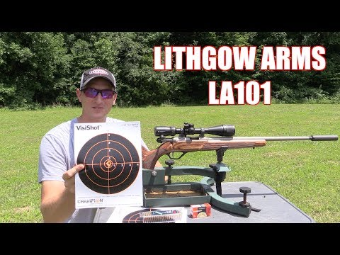LITHGOW ARMS LA101 22LR - MOST ACCURATE 22LR BOLT RIFLE I OWN!