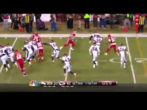Denver Broncos vs Kansas City Chiefs Week 13 NFL Highlights 2014