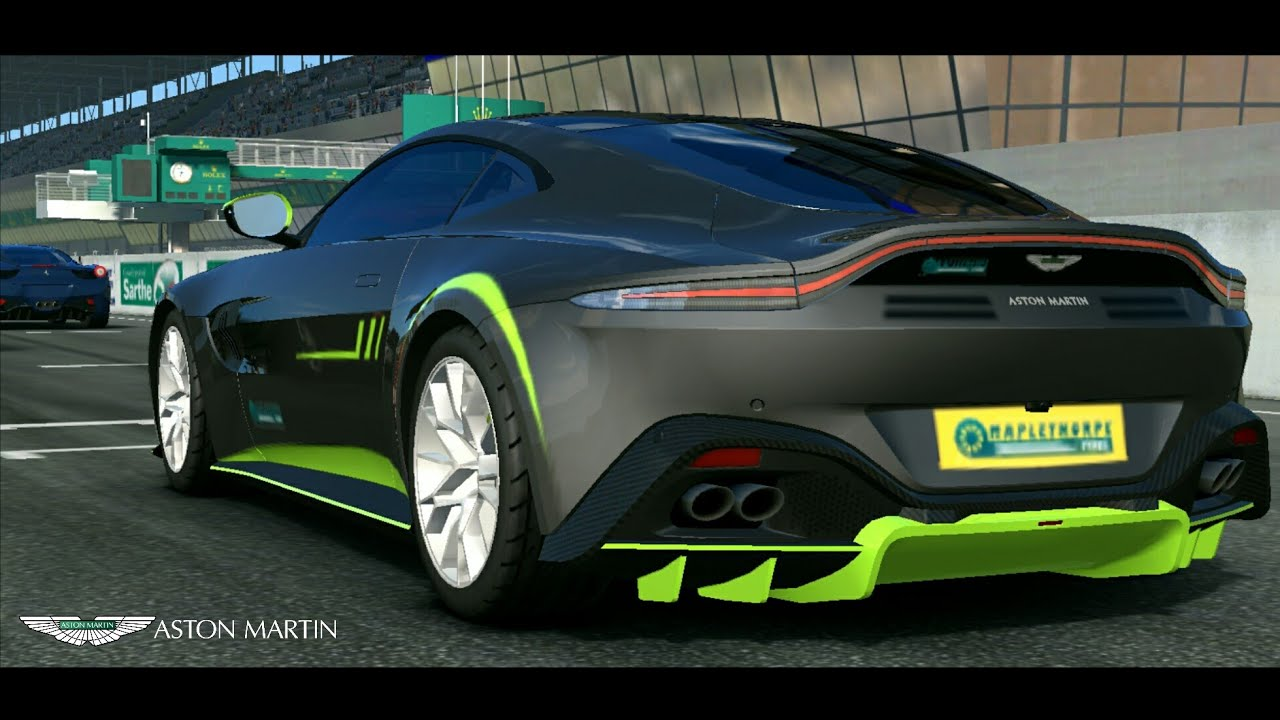 Real Racing 3 2019 Aston Martin Vantage 59 Spec Test Drive Youtube