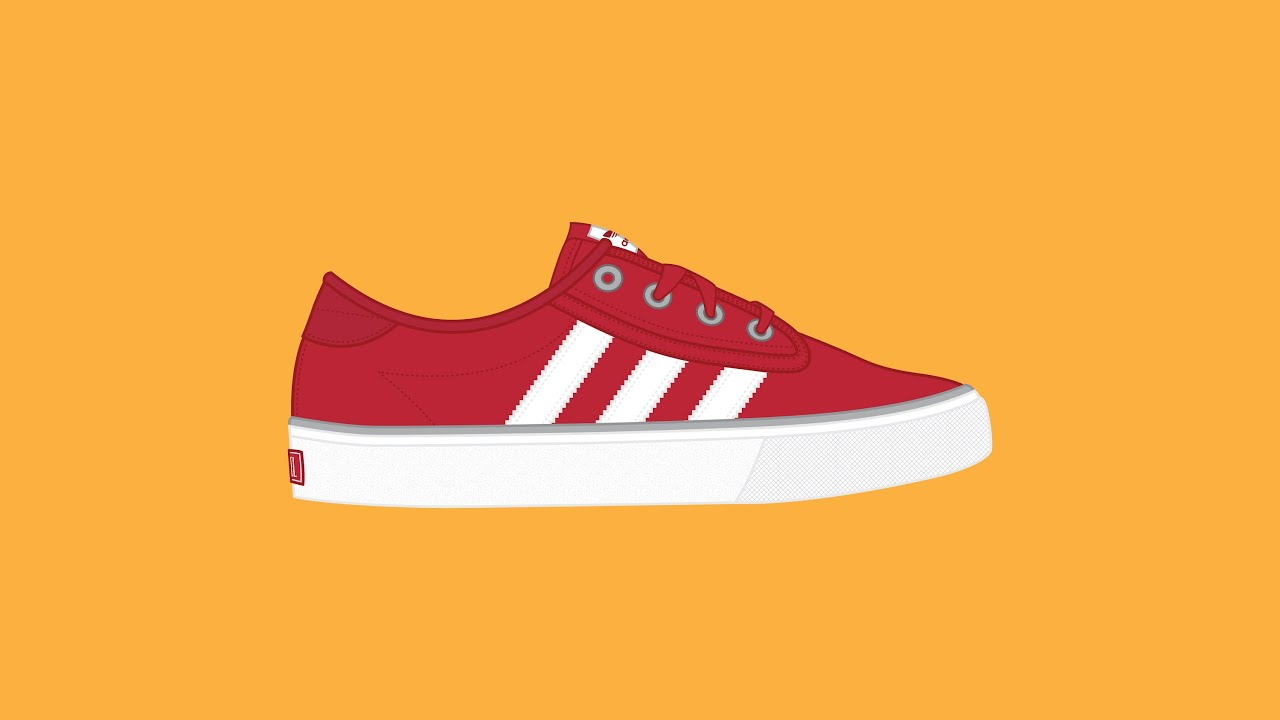 adidas shoes vector art