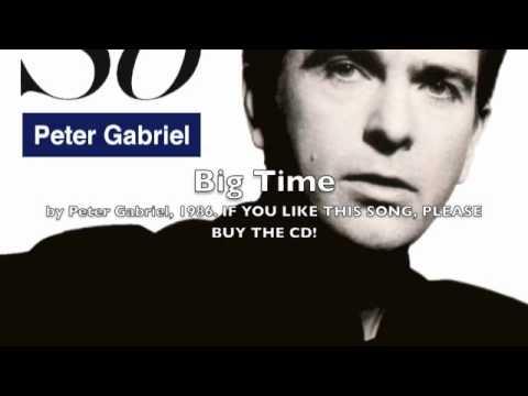 Peter Gabriel  Big Time 1986