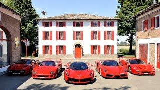 FERRARI: The Most Exclusive Ferrari | F40 - F50 - GTO - ENZO - LAFERRARI