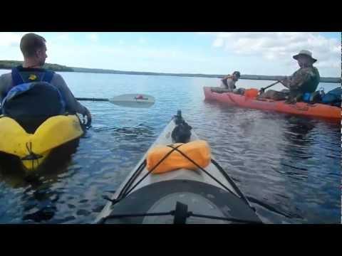 KAYAK CAMPING IN THE GREAT SWAMP OF RHODE ISLAND
