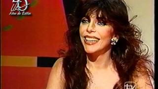 Entrevista de Verónica Castro en el programa Venga Conmigo en 1996