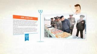 Ким Чен Ын - военый лидер Северной Кореи