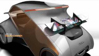 NULL CAR  Concept Industrial Design and Future Technology