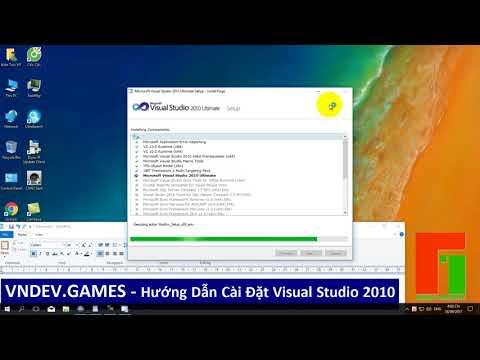[vnDev.Games] Install Microsoft Visual Studio 2010
