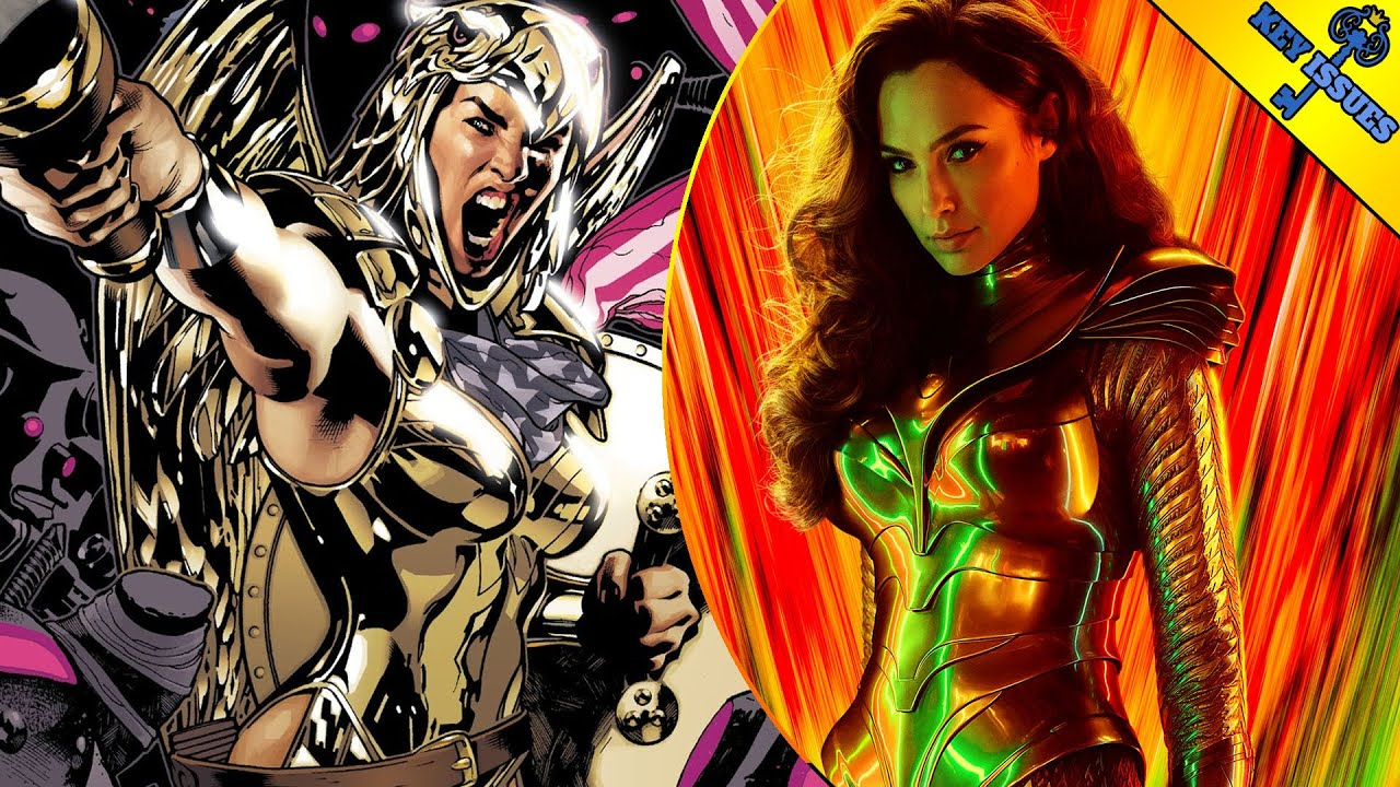 Wonder Woman 1984: Cheetah vs Golden Eagle Armor In New Art