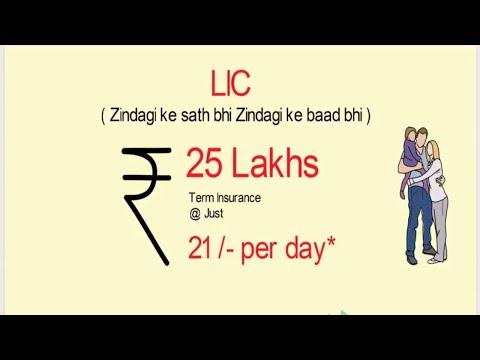 LIC Term Insurance Plan | Term Plan kya hota hai | LIC Term Insurance | Life Insurance