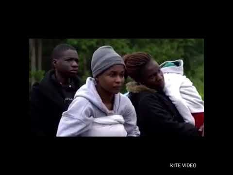 Video of asylum seeking Nigerians trying to cross the Canadian border