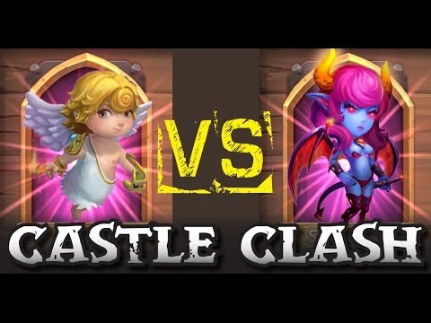 Castle Clash: Cupid Vs. Succubus - Boss 2 Showdown