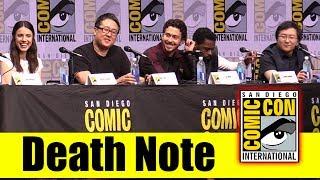 Netflix's DEATH NOTE | Comic Con 2107 Full Panel (Adam Wingard, Masi Oka, Terry Crews, Roy Lee)