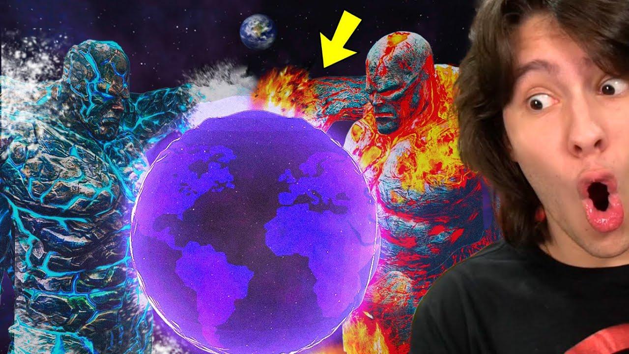 TRANSFORMEI A TERRA EM UM PLANETA DE GELATINA DOS TITANS!! (Solar Smash)