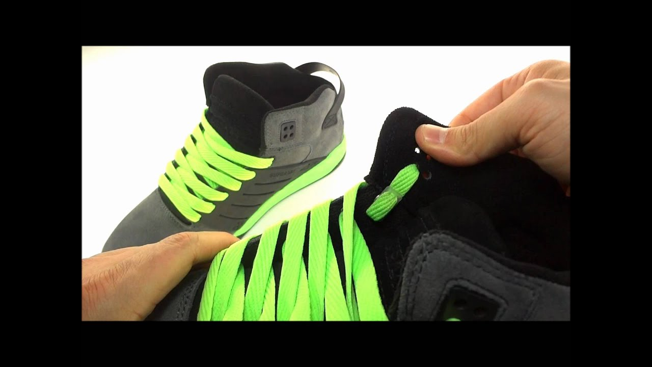 **How to lace your shoes with swag** - YouTube