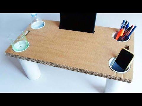 Как сделать мебель из картона своими руками пошаговая инструкция