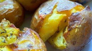 Картофель, запеченный в духовке Рецепт приготовления (Рецепт MasterVkusa)