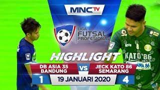 DB ASIA 35 BANDUNG VS JECK KATO 86 BERAU (FT: 1-4) - Highlights Liga Futsal Profesional 2020