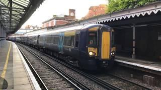 (HD) Southeastern Class 377/5's at Tunbridge Wells - 19/11/17