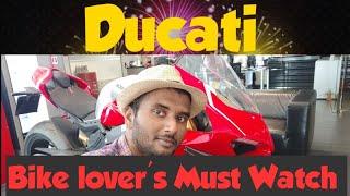 Ducati || Super Bike || ITALY ||First Indian And Kerala Vlogger shows you || മലയാളി പുലിയാ...