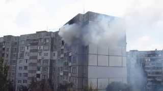 Пожар в Херсоне