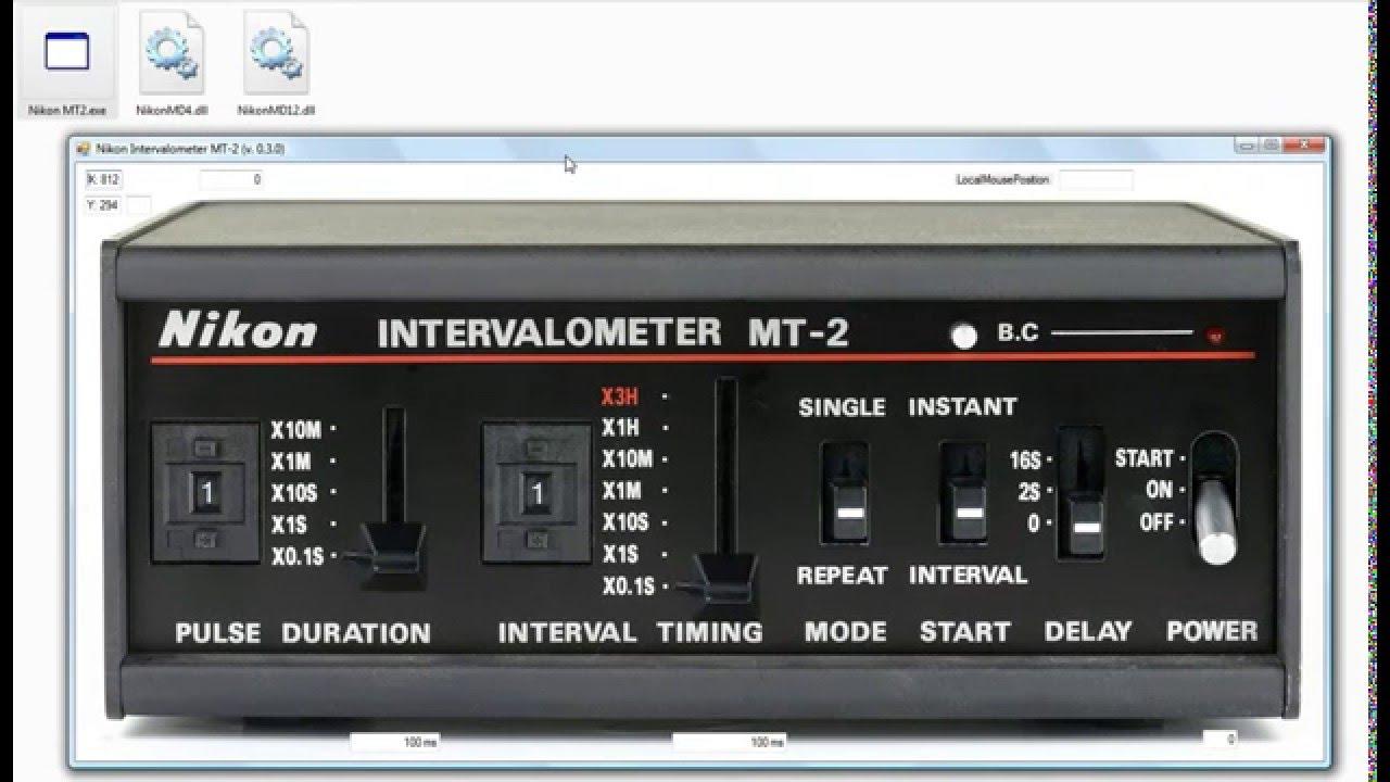 Nikon Intervalometer MT-2 software (3)