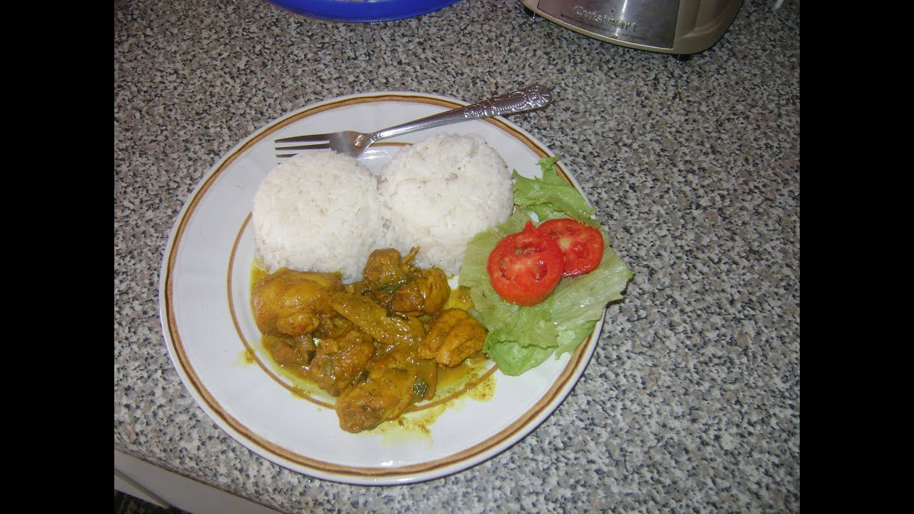 Jamaican cuisine how to cook curry chicken youtube forumfinder Image collections