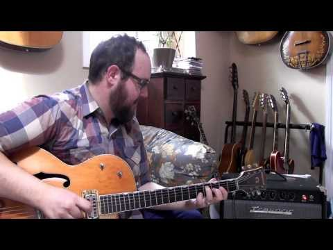 Aaron Goldstein from City & Colour playing his Traynor YGL1