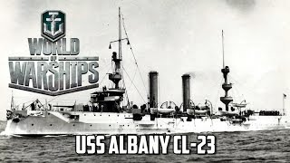 World of Warships - USS Albany CL-23