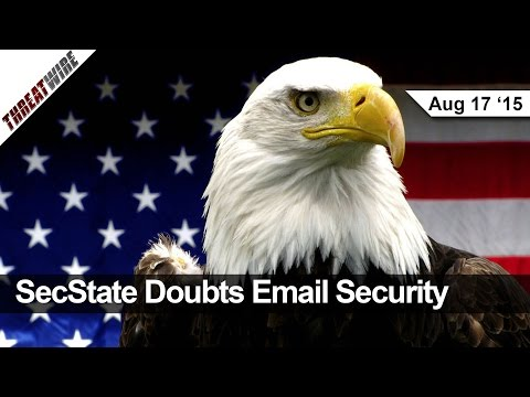 SecState Doubts Email Security, OwnStar Adds BMW, Mercedes, Chrysler, Oracle Mocked - Threat Wire