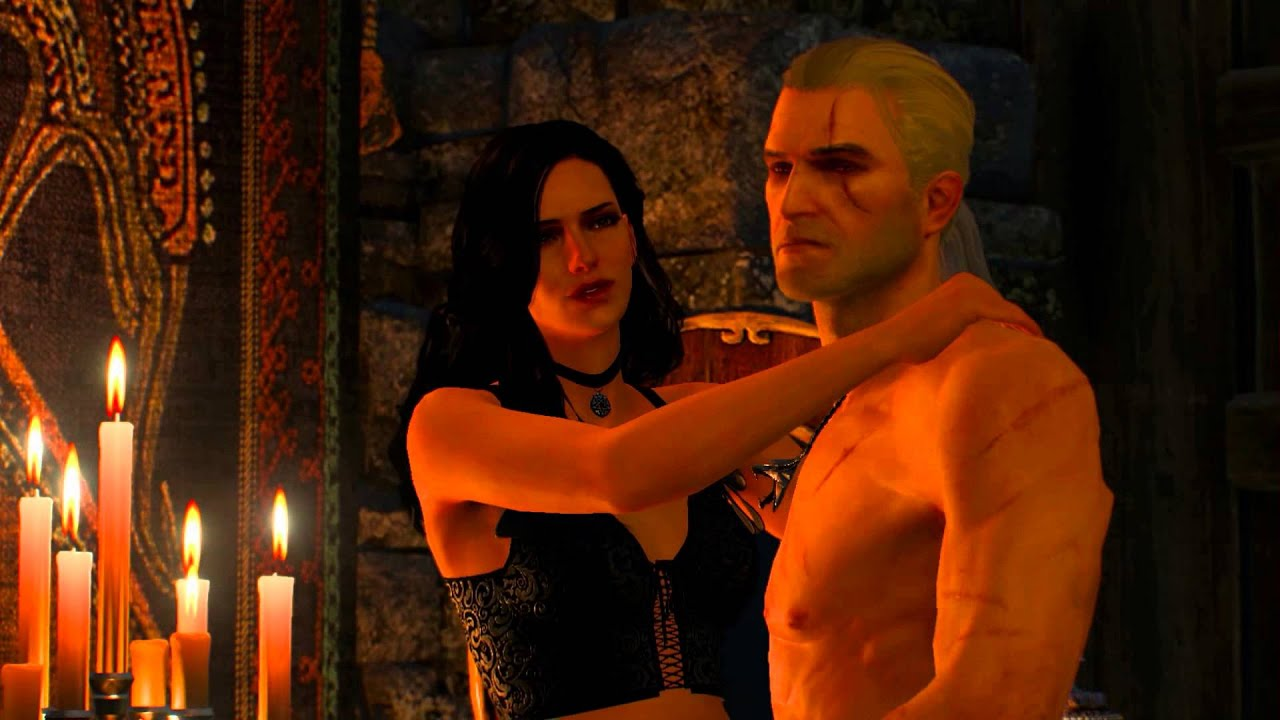 witcher 3 triss sex scene