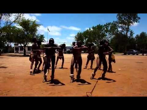 Amazing African Traditional dance Botswana
