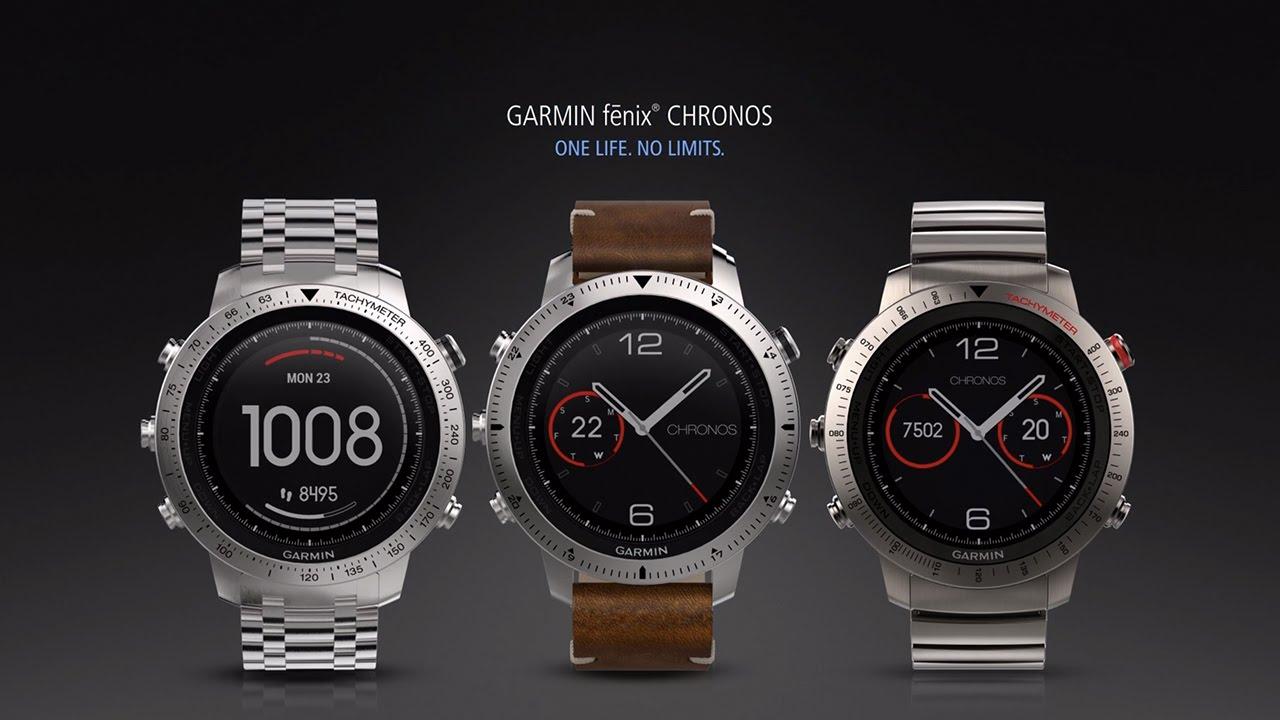 Dejlig fēnix® Chronos   Premium GPS Smartwatch   GARMIN JN-43